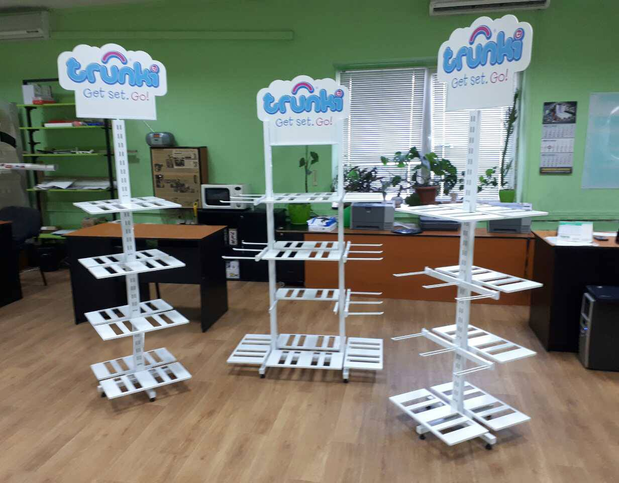 TRUNKI. DEVELOPING COMMERCIAL EQUIPMENT FOR AN AMERICAN BRAND IN UKRAINE