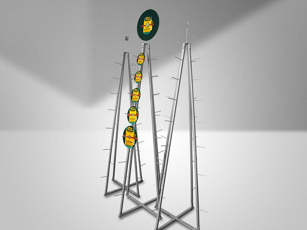 Кейс № 2: Разработка конструкции для демонстрации абразивных кругов в торговых точках