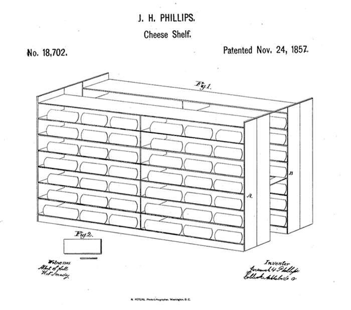 История стеллажей: какими были первые модели