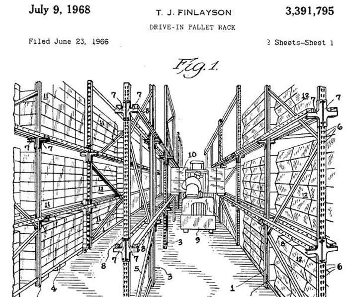 История стеллажей: въездные модели