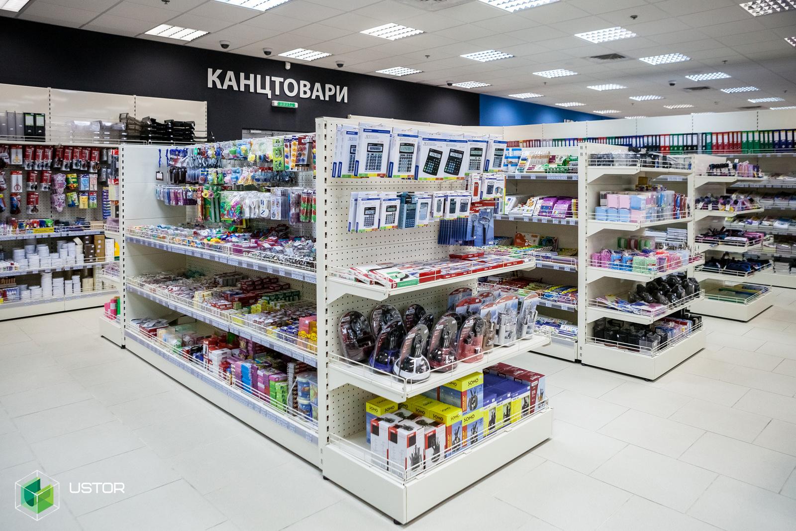 Торговельне обладнання для магазинів non-food сегмента [на прикладі серії RAF]