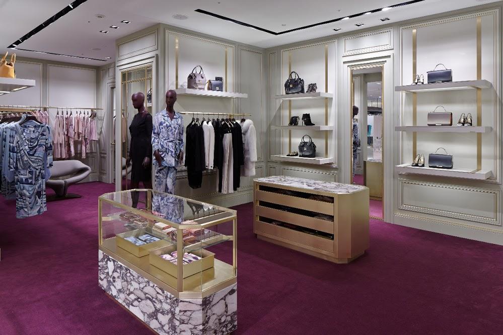 Пример магазина в итальянском стиле. Бутик Emilio Pucci