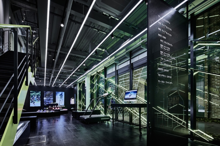 Nike+Run Club Omotesando: дизайн-концепция