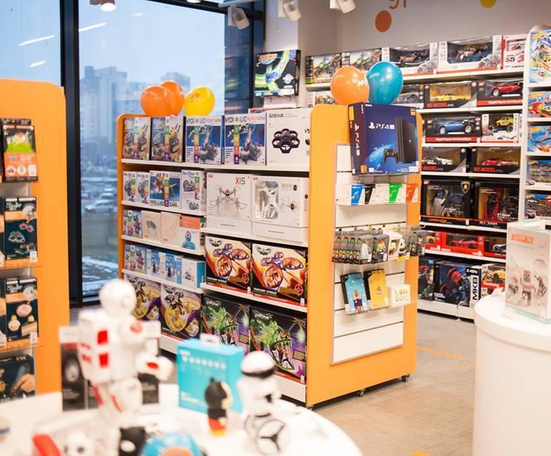 Пример интерьера магазина MyPlay