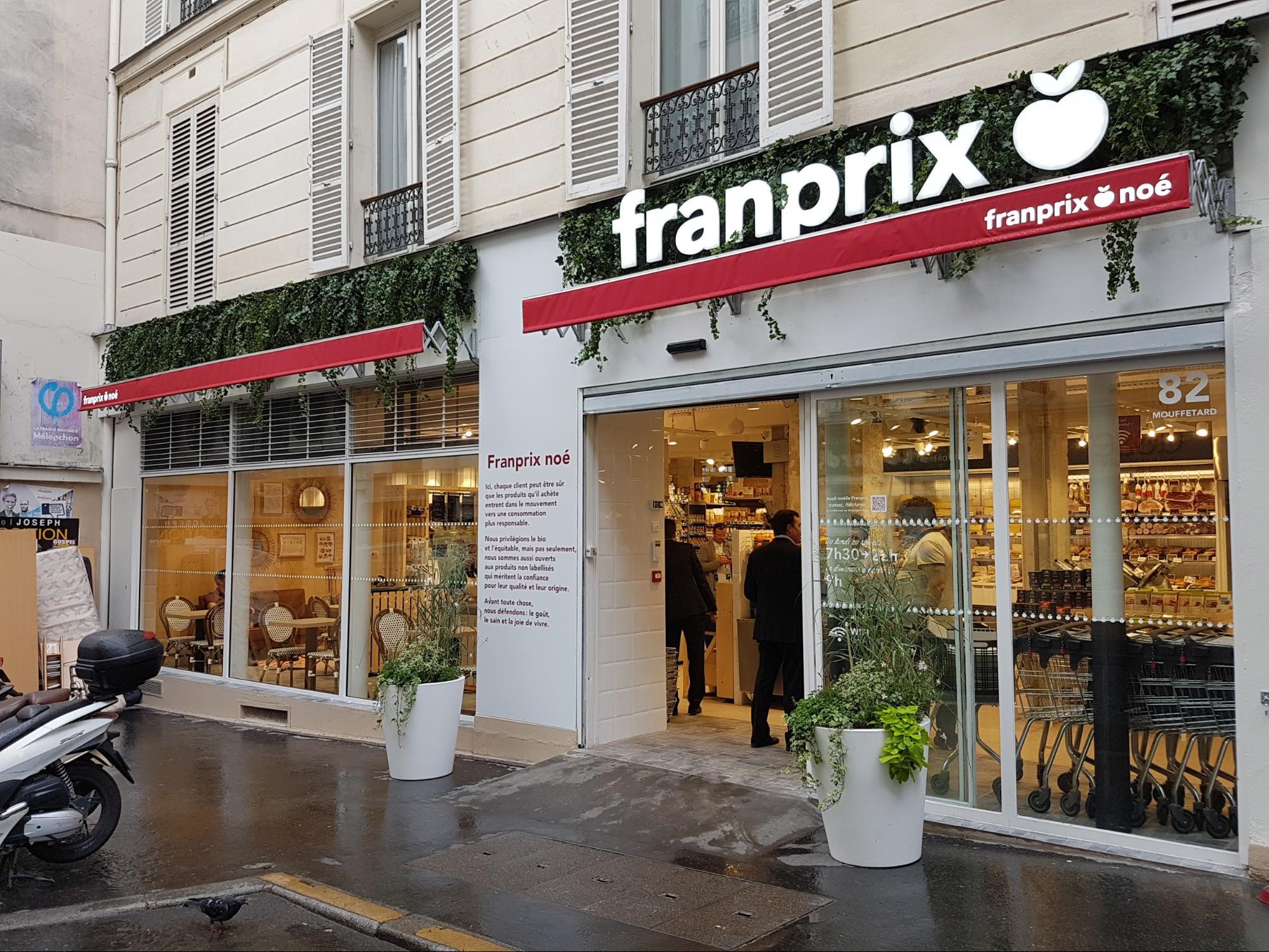 Franprix — победитель в номинации «Лучший дизайн магазина»