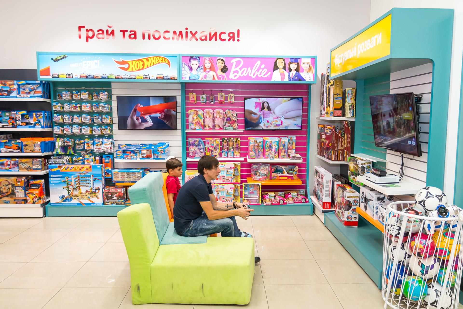 Новый формат магазинов «Антошка»