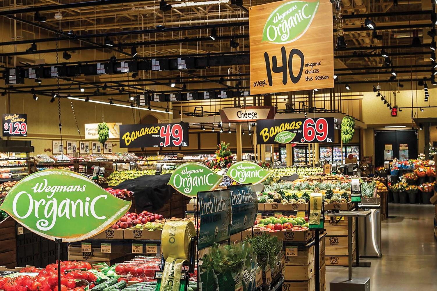 Как сформировать зону для фруктов и овощей