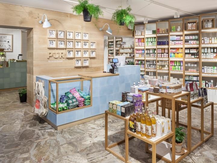 Магазин здоровых продуктов Pur в Хельсинки