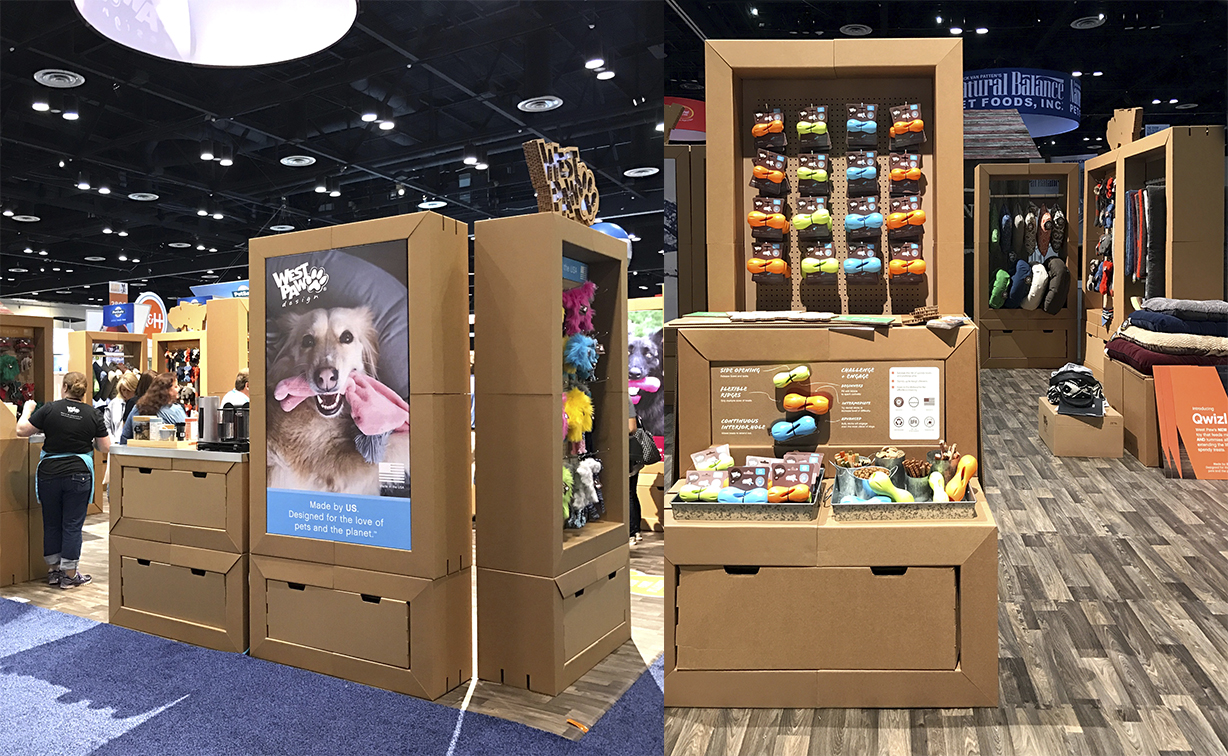 Racks for pet products